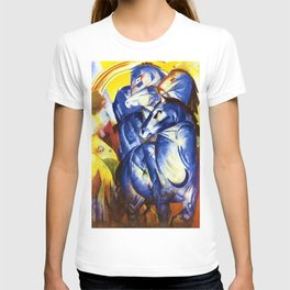 The Tower of Blue Horses by Franz Marc T-shirt