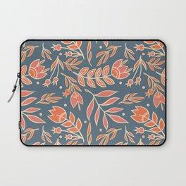 Loquacious Floral Laptop Sleeve