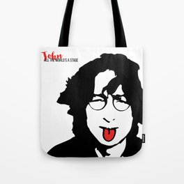 John Tongue Art Tote Bag