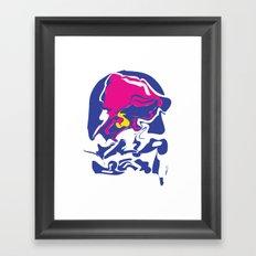 Taco Smudge Framed Art Print
