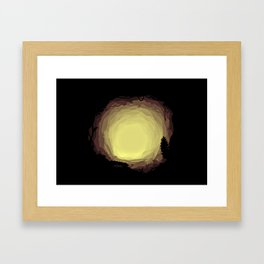 Mystical Cave Framed Art Print