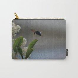 Carpenter Bee Landing Carry-All Pouch