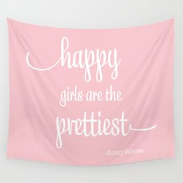 Happy Girls Wall Tapestry
