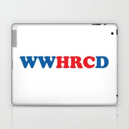 What Would Hillary Do (Red & Blue) Laptop & iPad Skin