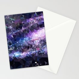 Galaxy Low Poly 42 Stationery Cards