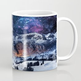 Mountain CALM IN space view Coffee Mug