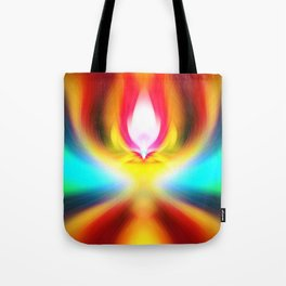 When the sands of time find you dawdling...falling into colour is easy Tote Bag