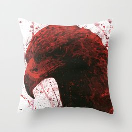 Red Eagle Throw Pillow