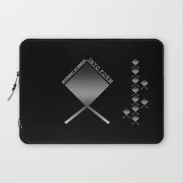 MOVEMENT OF ENERGY INTO FORM Laptop Sleeve