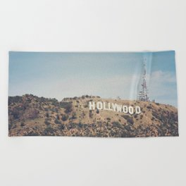 Hike to the Sign Beach Towel