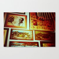 frame Canvas Prints featuring Frame by Charlie May