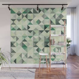 colorful Triangles 2 Wall Mural