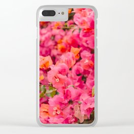 California Blooms XIII Clear iPhone Case