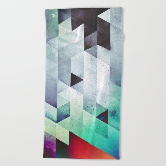 cyld_stykk Beach Towel
