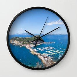 Nisida, Bay of Naples Wall Clock