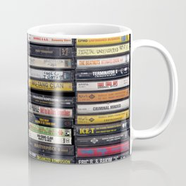 Old 80's & 90's Hip Hop Tapes Coffee Mug