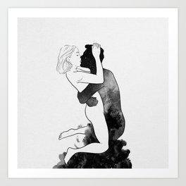 L'amour. Art Print
