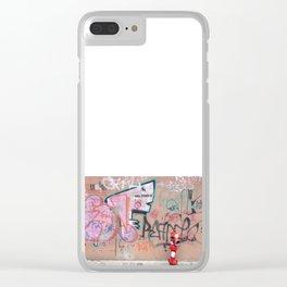 Cluj Graffiti Clear iPhone Case