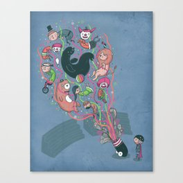 My day off Canvas Print
