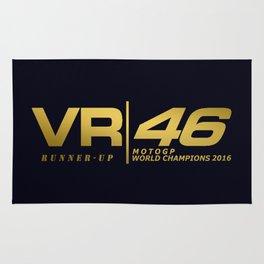 Rossi runner up MotoGp 2016 Rug