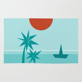 California Vibes Coolwater Rug