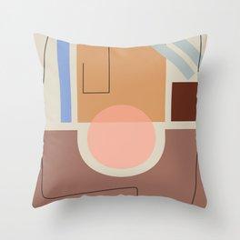 Shape study #33 Throw Pillow