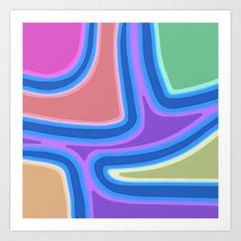 A Festival of Colors Art Print