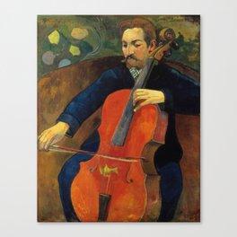 The Violoncellist Canvas Print