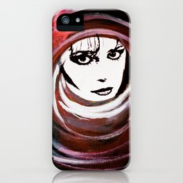 Relationship in peril iPhone Case