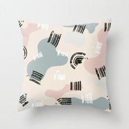 minimalist art abstract shape | minimalist shapes art Throw Pillow