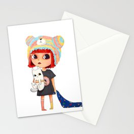 pajama and my blanket  Stationery Cards