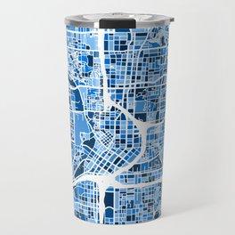 Atlanta Georgia City Map Travel Mug