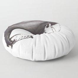 Humpback whale Megaptera Floor Pillow