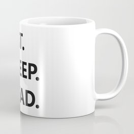Eat. Sleep. Read Coffee Mug