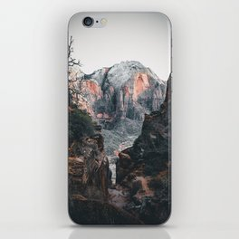 through the walls of zion iPhone Skin
