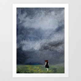 Nothing Could Stop Her Art Print