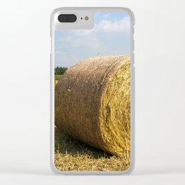 Round haystacks Clear iPhone Case