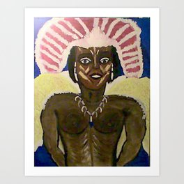 Carnavale Art Print