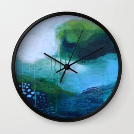 Mists No. 1 Wall Clock