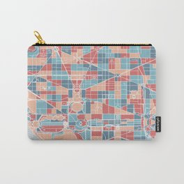 Washington DC map Carry-All Pouch