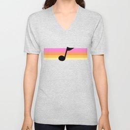 Mabel Music Note Unisex V-Neck