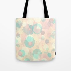 Pastel Geometric Pattern No 1  Tote Bag