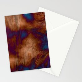 Brown vibration Stationery Cards
