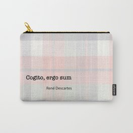 I Think Therefore I Am (Latin) Carry-All Pouch