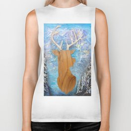 just heavenly, deer Biker Tank