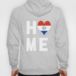 Paraguay Is My Home Shirt Hoody