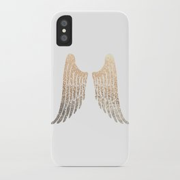 GOLD WINGS iPhone Case