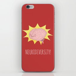 Neurodiversity! iPhone Skin