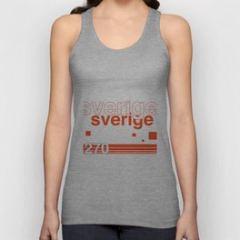 Sweden stamp  Unisex Tank Top