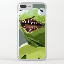 kermit to it Clear iPhone Case